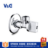 Soupape de cornière en laiton hydraulique (VG-E11021)