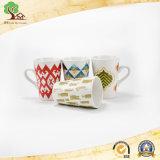 Copo da porcelana do estilo japonês canecas cerâmicas de 14 onças no produto da fábrica