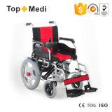 Do preço barato médico do produto novo da saúde cadeira de rodas elétrica de dobramento Foldable da potência