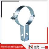 A sustentação do suporte do metal datilografa a braçadeira de tubulação da água do aço inoxidável
