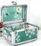 مصنع إمداد تموين ألومنيوم مستحضر تجميل صندوق كبيرة [بورتبل] أسرة مستحضرات التجميل صندوق [جولري بوإكس]
