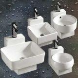 L'ajustage de précision sanitaire de salle de bains d'articles Mur-A arrêté le bassin de salle de bains de lavabo (8097)