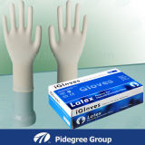 Nicht steriles Wegwerflatex-Handschuh-Puder En455