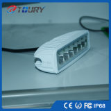 Offroad Encendido automático de luces LED 18W Lámpara LED de trabajo