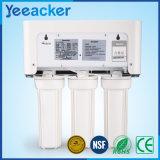 Het plastic Systeem van de Filter van het Water van het Huis van het Membraan van de Filtratie van de Omgekeerde Osmose Gehele