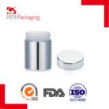 bottiglie di plastica d'argento cilindriche professionali 8oz/250ml per il supplemento dietetico