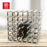 Nuevo estante del vino de madera del metal del estante del vino de la botella de la promoción 42