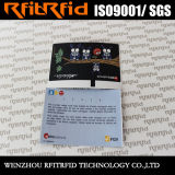 13.56MHz kundenspezifische passive elektronisches Spiel-Karte des Farben-Drucken-Aufkleber-RFID