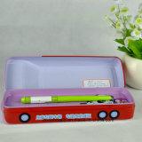 Kundenspezifischer Zinnblech-Metallbleistift-Kasten, Bus-Form-Bleistift-Kasten, Metallbleistift-Kasten