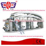 QDA Serie Farmacéutica de impresión de aluminio y máquina de capa