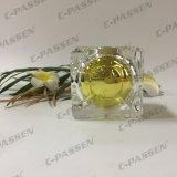 frasco de creme acrílico do ouro de cristal de 15g 30g 50g para o empacotamento do cosmético (PPC-ACJ-124)