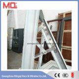 Finestra di vetro di alluminio della tenda di buona qualità per la stanza da bagno