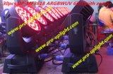36*18W UV RGBWA 6en1 a conduit le déplacement de la tête de lavage éclairage de scène.