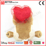 バレンタインデーの柔らかい動物のトイドッグ