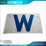 Выигрыш Wrigley MLB Field Чiкаго, Cubs выигрывает флаг, флаг w (J-NF01F03118)