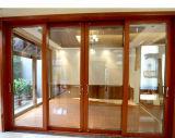 فائقة يوسع ثقيلة - واجب رسم مصعد [سليد دوور] ألومنيوم يرتدي صلبة [وأك ووود] باب مع 10 سنون خبرة