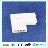 LEDのストリップのコネクター3528/5050 4Pin RGBのまっすぐなコーナーLアダプター