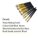 Ensemble de brosse Maquillage Kit de toilette Ensemble de brosse à la marque 8PCS