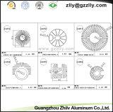 CNC die het Profiel Heatsink van het Aluminium voor Verlichting machinaal bewerken