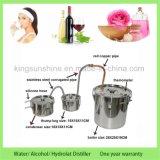 De MiniAlcohol die van de Wijn van het Water van het Gebruik van het Huis DTY tot Roestvrij staal maken de Distillateur van de Essentiële Olie met het Vaatje van de Dreun