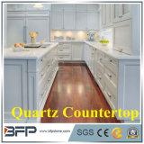 Partie supérieure du comptoir faites sur commande de quartz avec l'île de partie supérieure du comptoir de quartz