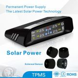 External Sensor Solar Power TPMS Tire Presses Monitor System TPMS Because Safety