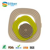 Flexível Separável Silicone Pan Liner Placemat Table Protector Tablemat