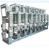 기계 90m/Min를 인쇄하는 중간 속도 8 색깔 Shaftless 사진 요판