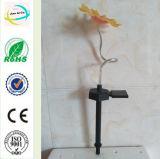 ヒマワリの庭の装飾の太陽軽いヤードの棒のクラフト