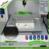 Machine de remplissage liquide semi automatique de capsule de bouteille de pétrole F1