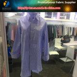Prodotto intessuto banda tinto filato popolare della tessile di T/C per la camicia casuale delle donne
