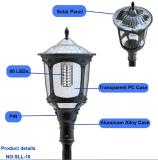 2017 Lumière de jardin solaire sans fil à LED de style Design avec capteur de mouvement PIR à vendre