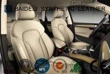 Cuir artificiel de PVC de modèle classique pour la décoration couverte et intérieure de portée de véhicule