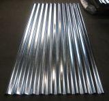 Carreaux de toit en métal ondulé 0,13-1,5 mm / feuille ondulée galvanisée