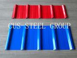 Panel de techos de perfil único / hojas de revestimiento trapezoidales