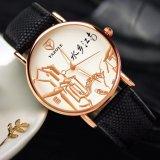 Reloj impermeable caliente del estilo chino de señora Leather Watch Fashion de Yazole de la venta 363
