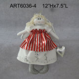"15 ""H Christmas Angel Home Decoration-2sst."