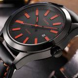 方法スポーツの腕時計の防水人の鋼鉄腕時計の手首の水晶Watch72190