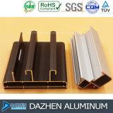 Matériau en aluminium en aluminium du profil 6063 pour la porte de guichet