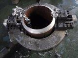 découpage taillant pneumatique de pipe en acier et machine de cannelure pour la soudure