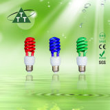 Lampe économiseuse d'énergie 105W demi de 2700k-7500k tricolore spiralé E27/B22 220-240V