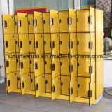 Wasserdichte HPL 9 Tür-Schließfächer für Speicherschule-Beutel