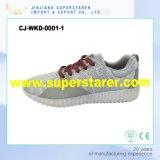 Éclairage LED vers le haut des chaussures occasionnelles du sport unisexe DEL de femmes d'hommes de chaussure