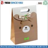 La pequeña bolsa de regalo bolsas de papel para embalaje de dulces
