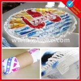ビーチタオルのあたりで印刷される綿Microfiberを広告する昇進