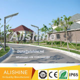 20watts 옥외 한세트 통합 태양 LED 정원 가로등