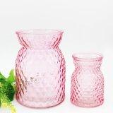 Vaso di vetro decorativo colorato di arte per i fiori