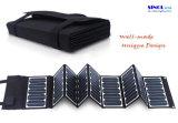 携帯電話の太陽充電器60Wの太陽電池パネル折る袋のスマートな電話太陽充電器
