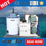 Воздух-Охлаждая машина льда хлопь с испарителем нержавеющей стали