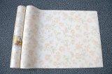 Fábrica al por mayor del papel pintado de la pared del salón de la sala de estar del hogar en papel de empapelar de la flor de China